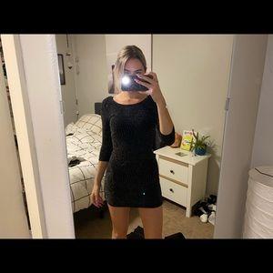 Trixxi black sparkle dress
